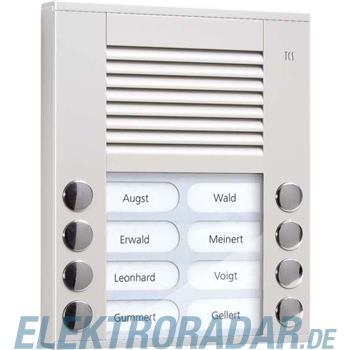 TCS Tür Control Audioaußenstation 2-reihig PES08-EN/04
