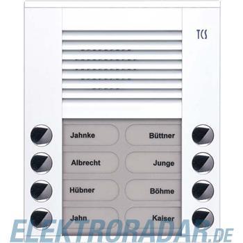 TCS Tür Control Audioaußenstation 2-reihig PES08-WS/04