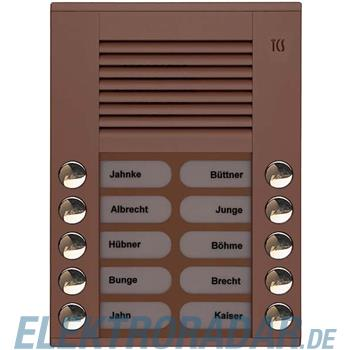 TCS Tür Control Audioaußenstation 2-reihig PES10-EB/04