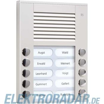 TCS Tür Control Audioaußenstation 2-reihig PES10-EN/04