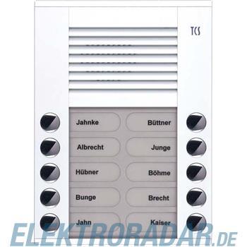 TCS Tür Control Audioaußenstation 2-reihig PES10-WS/04