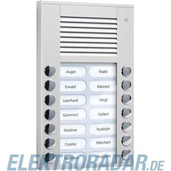TCS Tür Control Audioaußenstation 2-reihig PES14-EN/04