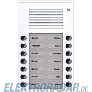 TCS Tür Control Audioaußenstation 2-reihig PES14-WS/04