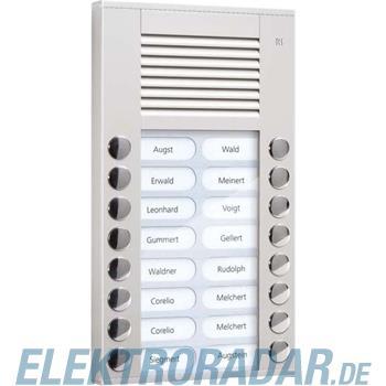 TCS Tür Control Audioaußenstation 2-reihig PES16-EN/04