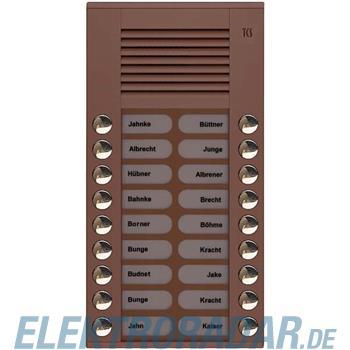 TCS Tür Control Audioaußenstation 2-reihig PES18-EB/04