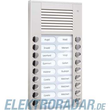 TCS Tür Control Audioaußenstation 2-reihig PES18-EN/04