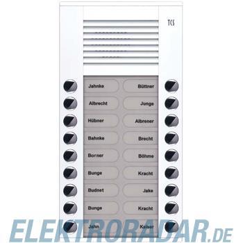 TCS Tür Control Audioaußenstation 2-reihig PES18-WS/04