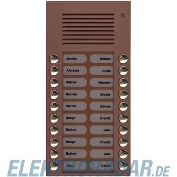 TCS Tür Control Audioaußenstation 2-reihig PES20-EB/04
