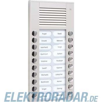 TCS Tür Control Audioaußenstation 2-reihig PES20-EN/04