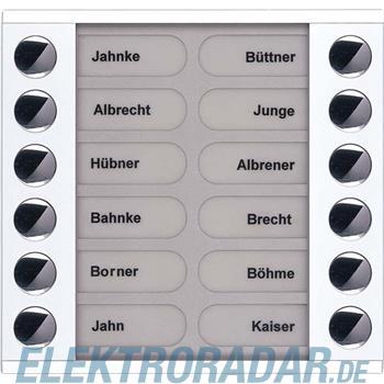 TCS Tür Control Audioaußenstation 2-reihig PET12-WS/04