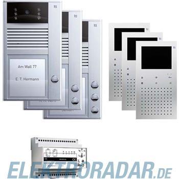 TCS Tür Control Videosprechanlgenset color PVC1330-0010