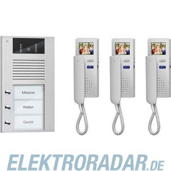 TCS Tür Control Videosprechanlgenset color PVE1530-0010