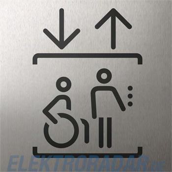TCS Tür Control Piktogrammträger PT11-ES