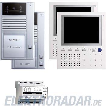 TCS Tür Control Videosprechanlageset color PVC1520-0010