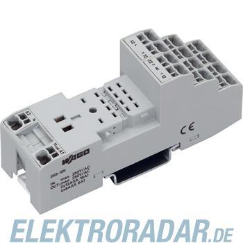 WAGO Kontakttechnik Relaissockel 858-100