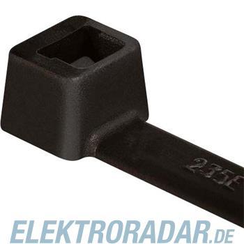 HellermannTyton Kabelbinder T50R-PA66-BK-C1