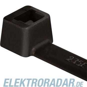 HellermannTyton Kabelbinder T120I-PA66-BK-C1