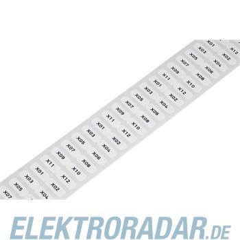 WAGO Kontakttechnik Etikett weiß 210-805