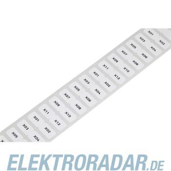 WAGO Kontakttechnik Etikett weiß 210-806