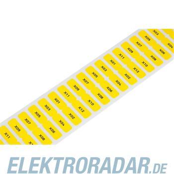 WAGO Kontakttechnik Etikett weiß 210-807