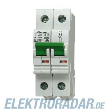 Kopp Leitungsschutzschalter MCB, 6A 2-polig 720620007