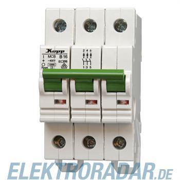 Kopp Leitungsschutzschalter MCB, 6A 3-polig 7206.3000.4