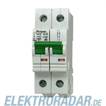 Kopp Leitungsschutzschalter MCB, 10A 2-polig 721020000