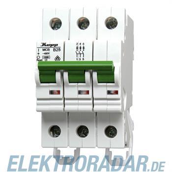 Kopp Leitungsschutzschalter MCB, 25A 3-polig 7225.3000.3