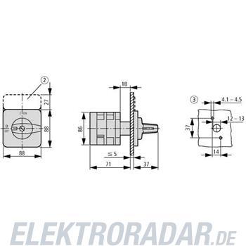 Eaton Ein-Aus-Schalter T5B-2-39/E