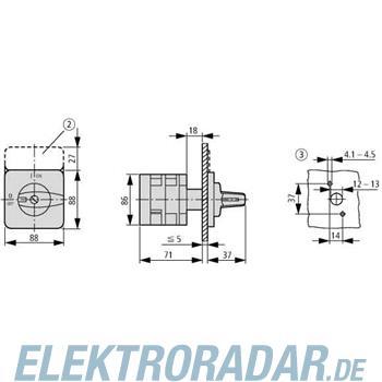 Eaton Ein-Aus-Schalter T5B-2-37/E