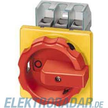 Siemens Haupt-/Not-Aus-Schalter 4p 3LD2003-2EP53