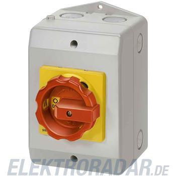 Siemens Haupt-/Not-Aus-Schalter 6p 3LD2165-4VD53