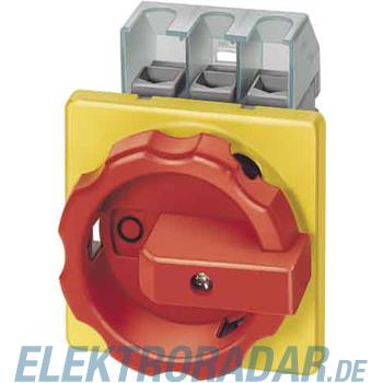 Siemens Haupt-/Not-Aus-Schalter 4p 3LD2254-1TL53