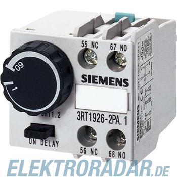 Siemens pneumatischer Zeitrelaisbl 3RT1926-2PA01