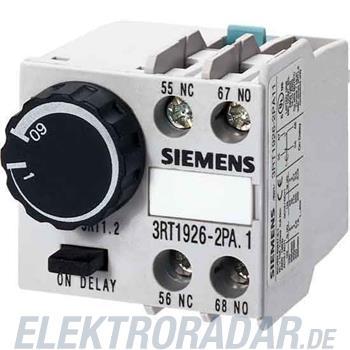 Siemens pneumatischer Zeitrelaisbl 3RT1926-2PA11