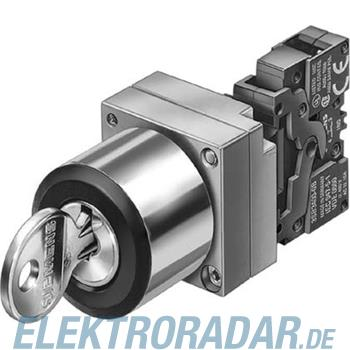 Siemens Komplettgerät rund Metall 3SB3601-1TA20