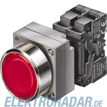 Siemens Komplettgerät rund, Leucht 3SB3647-0AA21-0CC0