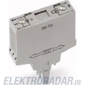 WAGO Kontakttechnik Optokoppler, minus-s., 24V 286-721