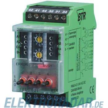 BTR Netcom Ausgangsmodul FRAS 4/21,24VAC/DC