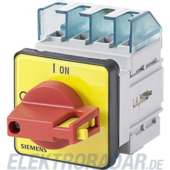 Siemens Haupt-/Not-Aus-Schalter 3LD2022-1TL13