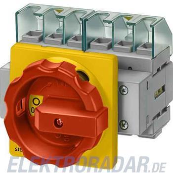 Siemens Haupt-/Not-Aus-Schalter 4p 3LD2054-1TL53