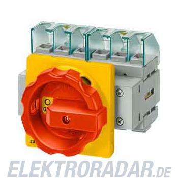 Siemens Haupt-/Not-Aus-Schalter 4p 3LD2054-2EP53