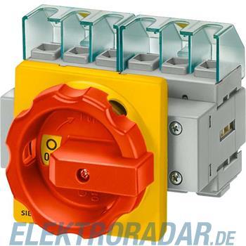 Siemens Haupt-/Not-Aus-Schalter 4p 3LD2504-1TL53