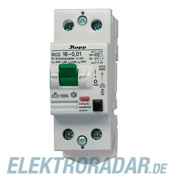 Kopp Fehlerstromschutzschalter RCD, 16A, 10mA 751626012
