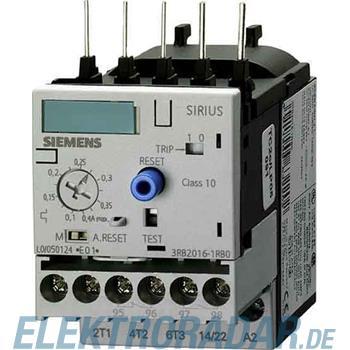 Siemens Überlastrelais 1-4A Motors 3RB2016-2PD0