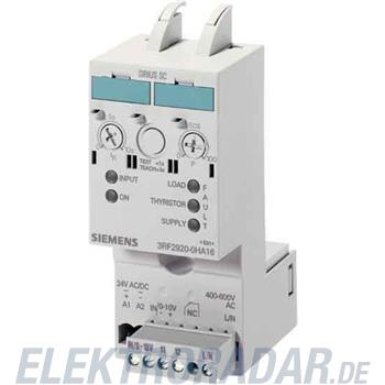 Siemens Leistungsregler Stromber. 3RF2920-0HA33