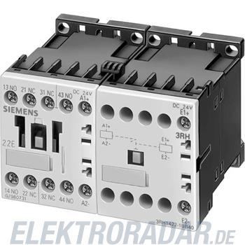 Siemens Hilfsschütz verklinkt, 4po 3RH1431-1BM40
