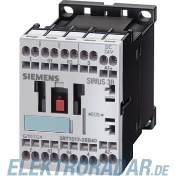 Siemens Schütz AC-3, 3kW/400V, 2S+ 3RT1015-2BB44-3MA0
