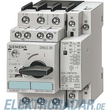 Siemens Leistungsschalter Bgr.S0 3RV1121-1BA10
