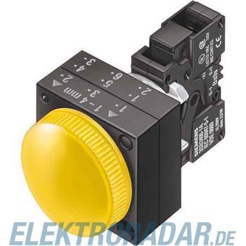 Siemens Komplettgerät rund Leuchtm 3SB3204-6BA70-0CC0